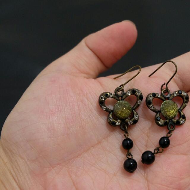 Butterfly Earrings #gocengaja