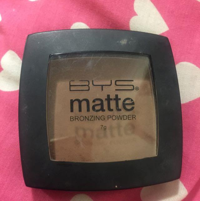 BYS matte Bronzer