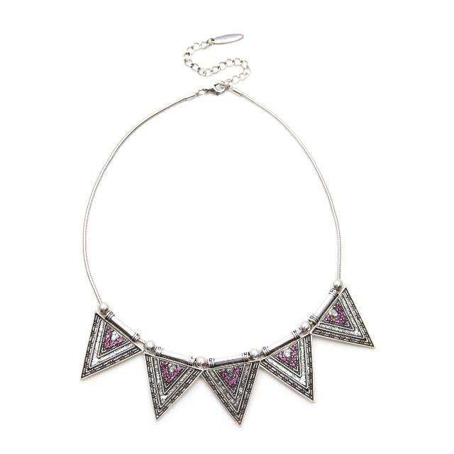 Camilla Jade Aztec Necklace
