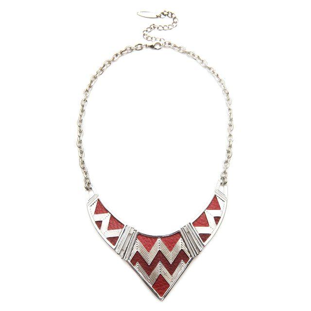 Camilla Jade Aztec Statement Necklace
