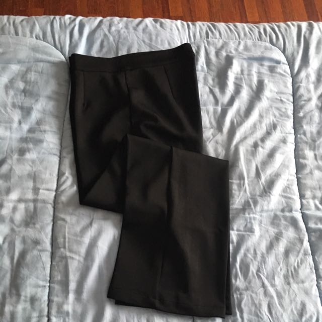 celana panjang hitam kullot