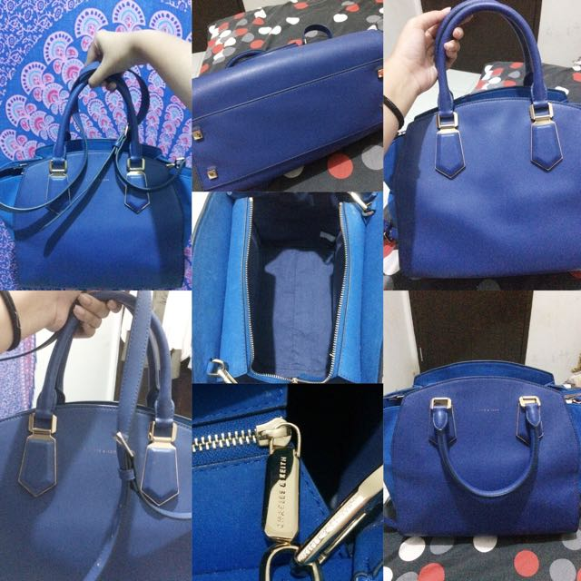 Charles and keith Blue