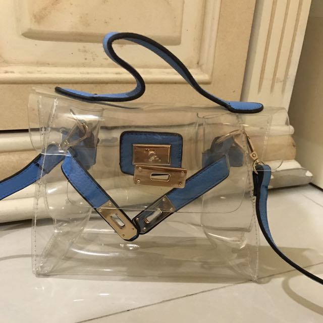 Clear Bag Hermes