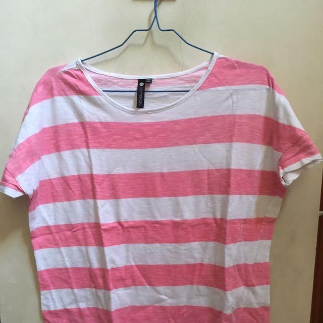 Cotton On Pinky Stripe