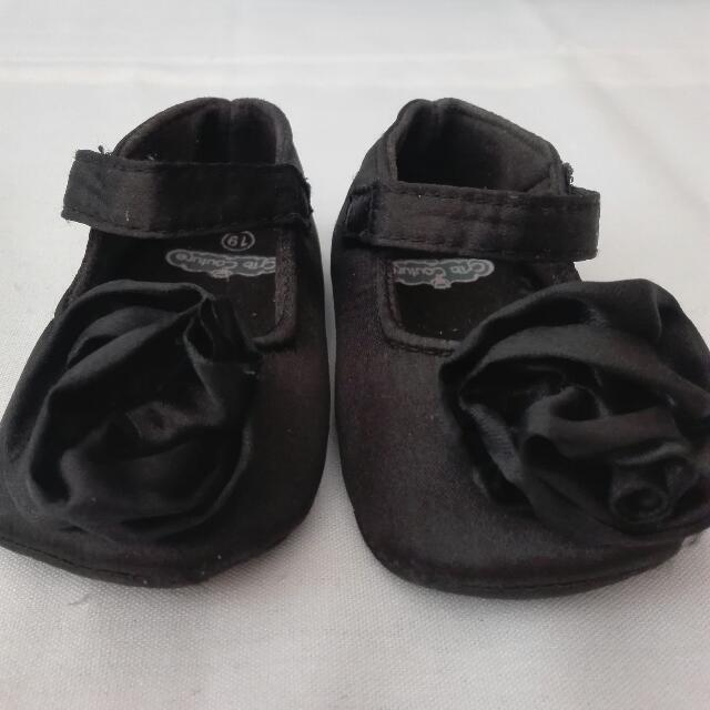 Set of 3 /Crib Couture and Pitter-Pat Baby Shoes
