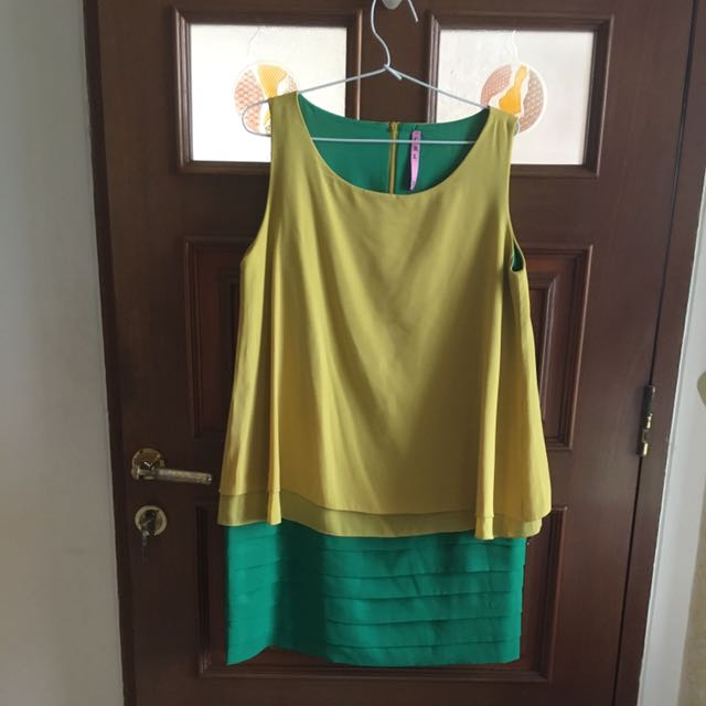 Dress Green Yellow