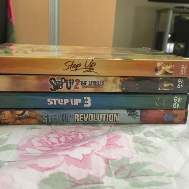 DVD Set - Step Up