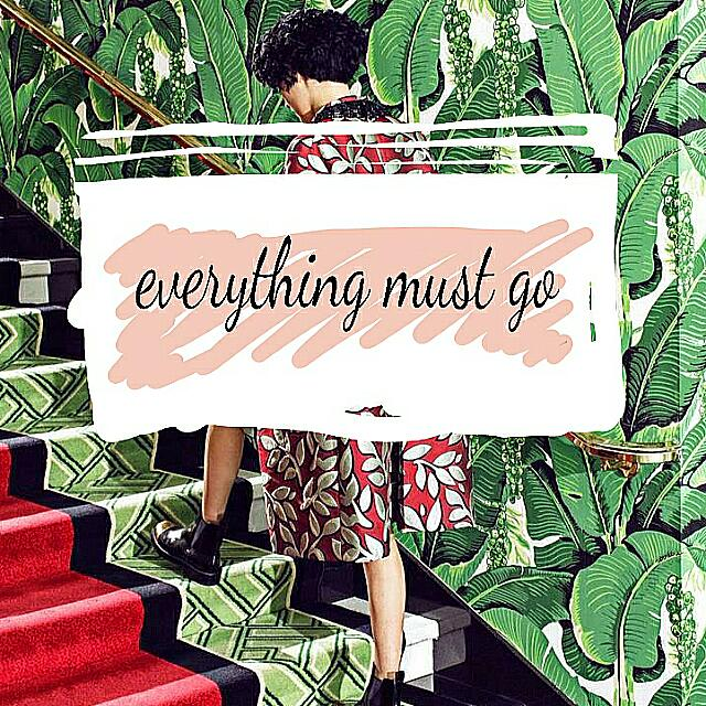 Everything Must Go.