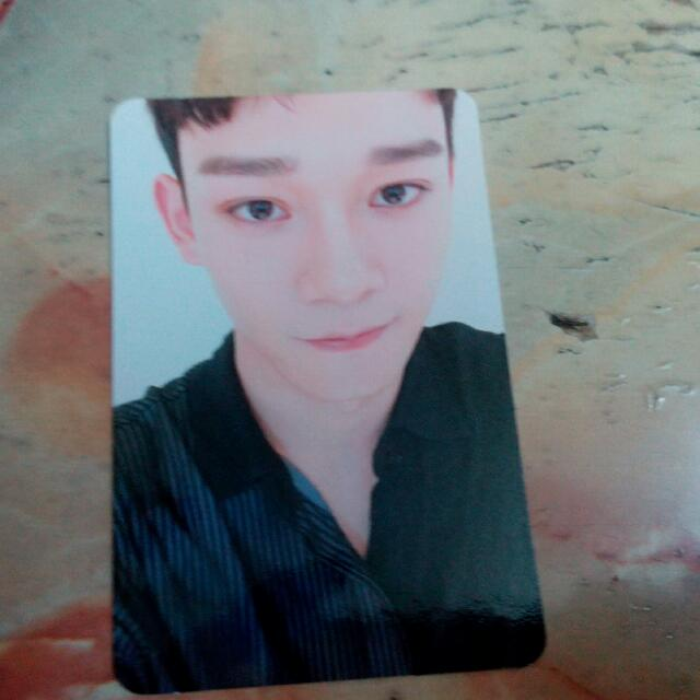 Exo Chen Winter For Life Office Photocard Album