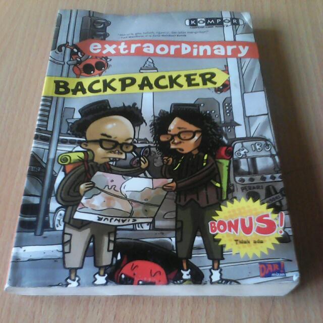 Extraordinary Backpackers Komik Lokal Kocak Bangeet