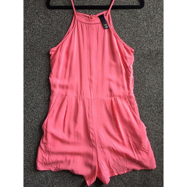 Factorie Coral Play suit