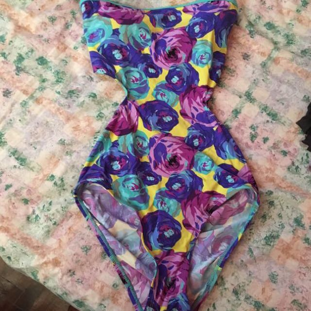 Folded and Hung Swimsuit