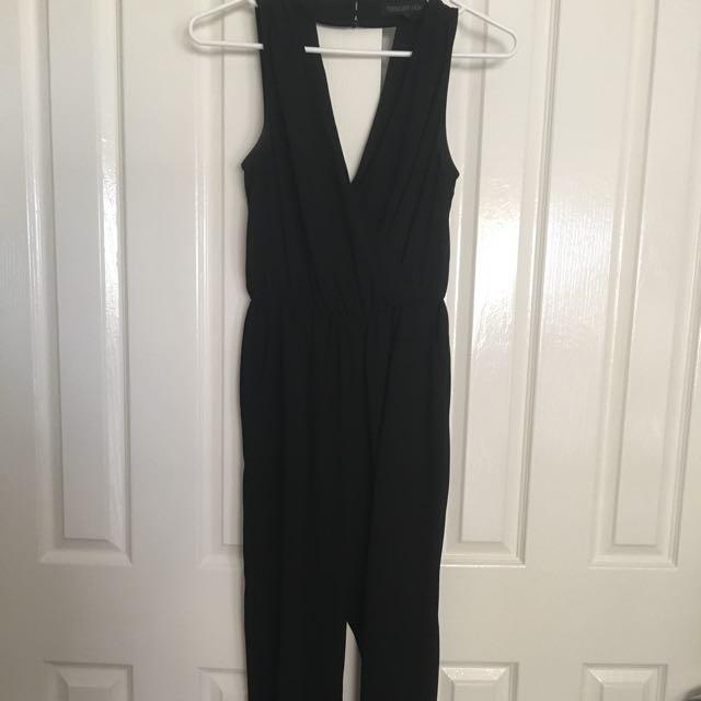Forever New Black Jumpsuit