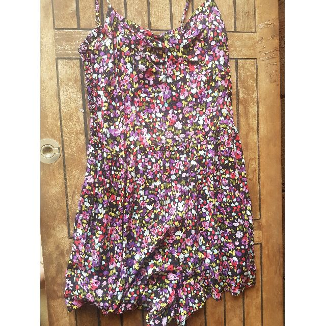 Forever New Colourful Floral Playsuit