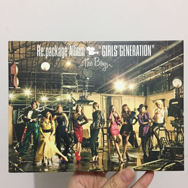 Girls Generation Re: Package Album The Boys