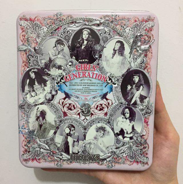Girls Generation The Boys 3rd Album 2011