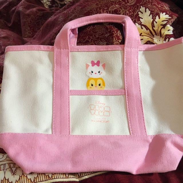 GraceGift 粉色小提袋