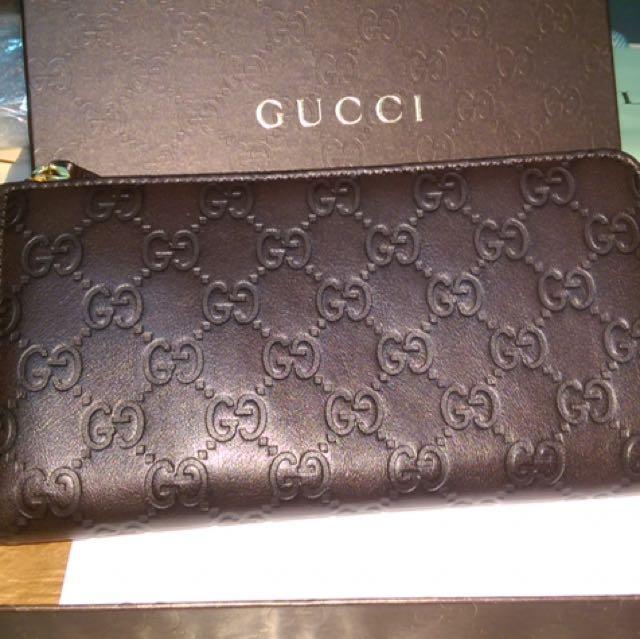Gucci  L型長夾(正品)