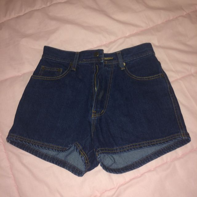 Highwaist jeans short