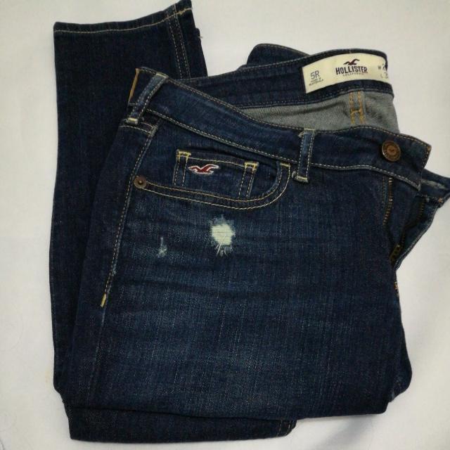 Hollister blue pants size 27 skinny
