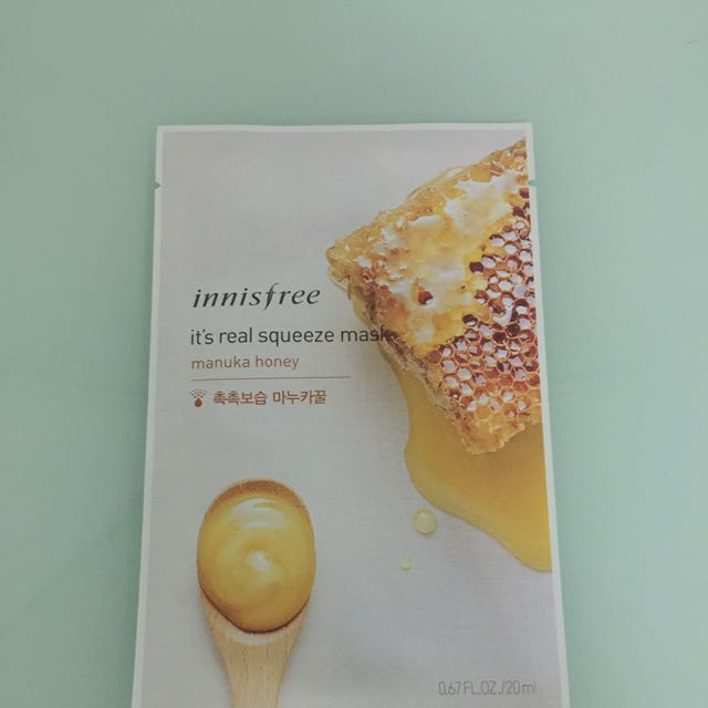 Innisfree Manuka Honey Mask