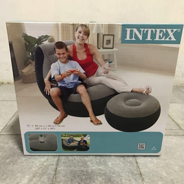 Intex Inflatable Ultra Lounge & Ottoman