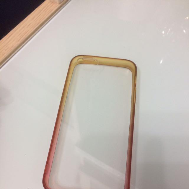 漸變色iphone5/5s軟殼
