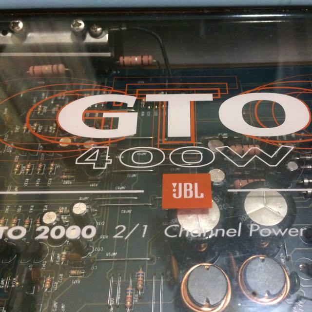 JBL GTO 2000 2 Channel Amp