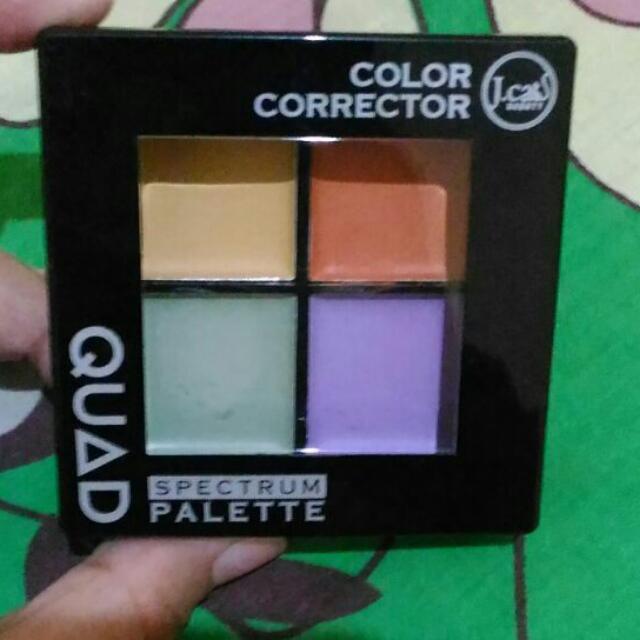 J.cat Beauty Quad Spectrum Pallete Color Correcting