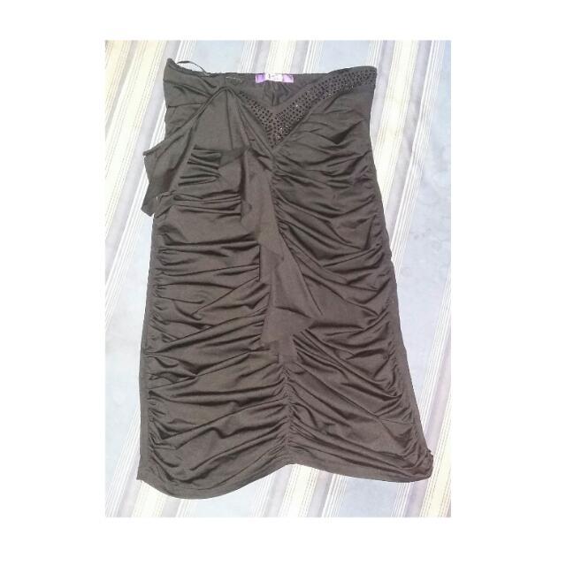 K2 Tube Black Dress