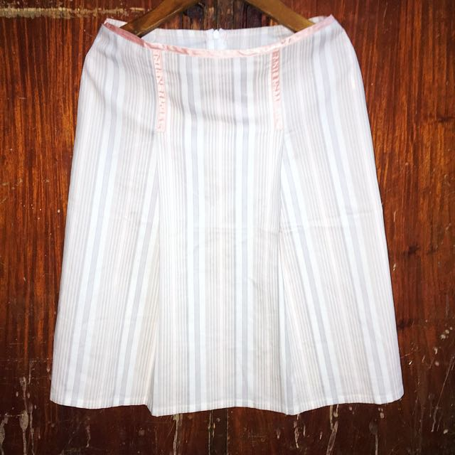 Kashieca Pinstriped Skirt
