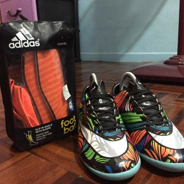 free shipping d0504 eb0a6 ... clearance kasut futsal nike free shinguard adidas sports athletic  sports clothing on carousell 392e0 eaa04
