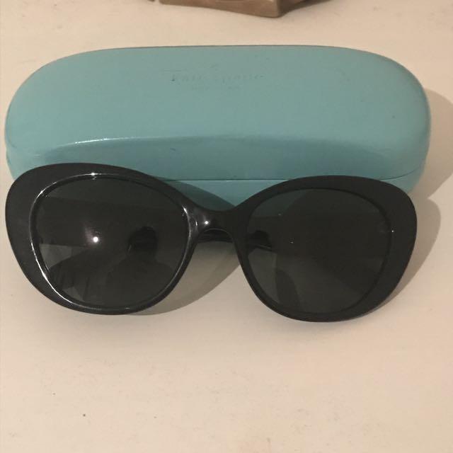 KATE SPADE Black Cat Eye Sunglasses