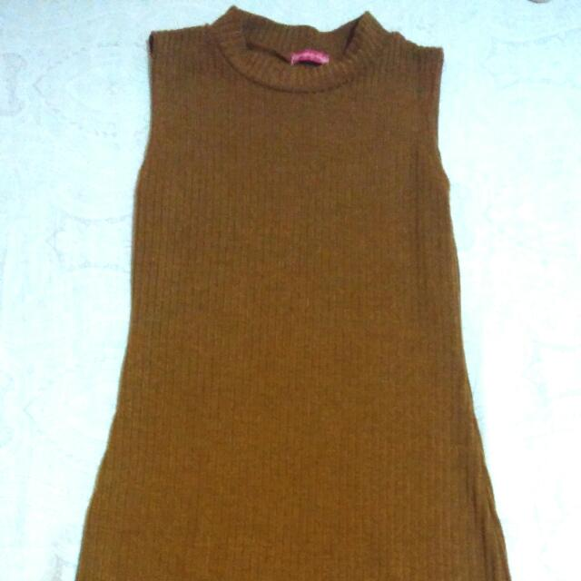 Knitted Sleeveless