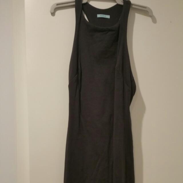 Kookai Racer Back Midi Dress Size 1