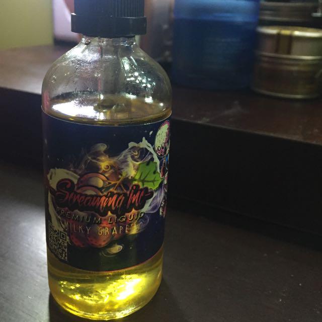 Liquid Premium Grape Milk 100ml