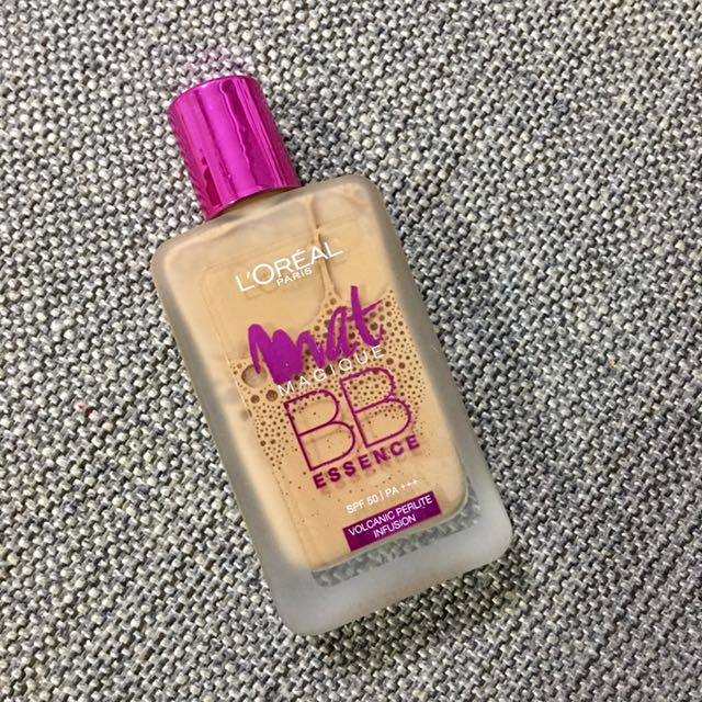 L'Oreal Paris Mat Magique BB Essence SPF50 PA+++, Health & Beauty, Makeup on Carousell