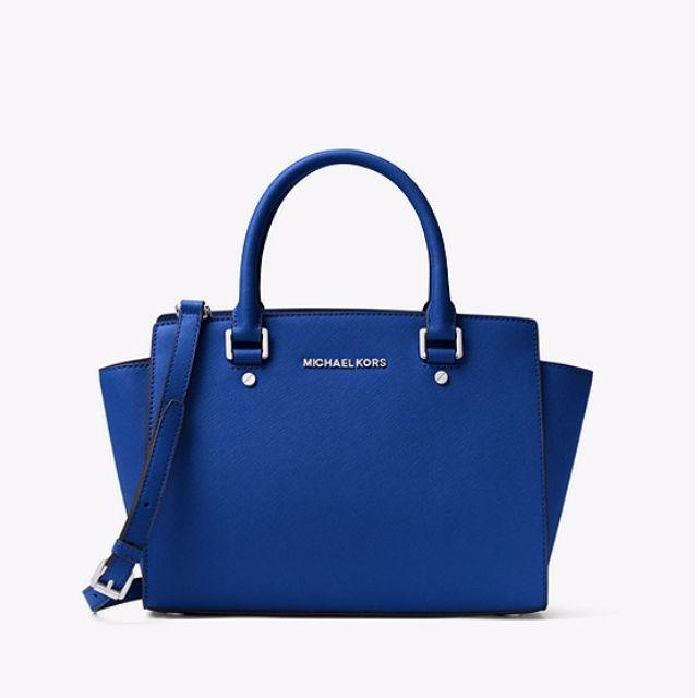 Michael Kors- Selma Bag- Electric Blue