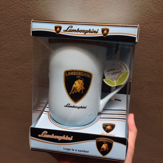 Mug with Stirrer (Ceramic)