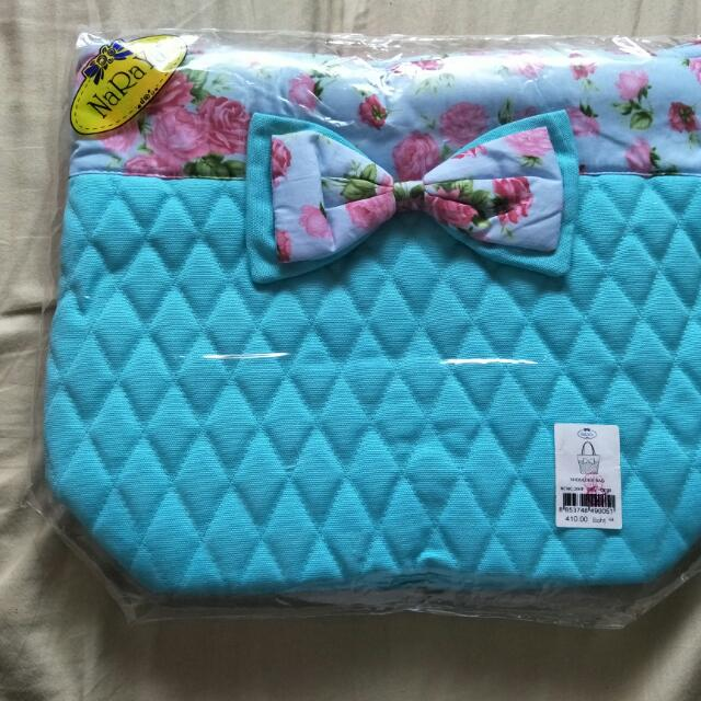 (代售不換)Naraya 曼谷包 Tiffany藍