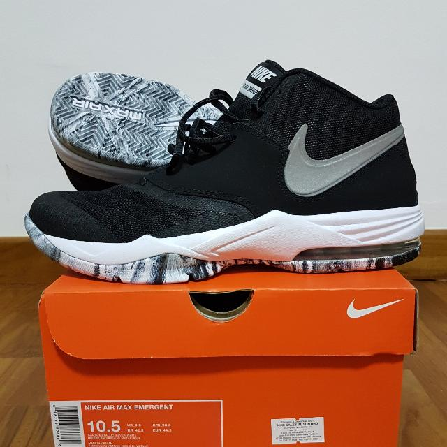 the best attitude 986bc 5cb67 ... black grey basketball shoes 30947 c9cb0; sweden nike air max emergent  sports sports games equipment on carousell 2c6a2 8d585
