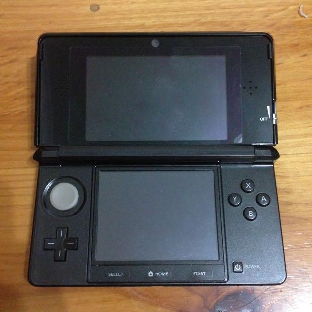 Nintendo 3DS Launch Edition Cosmo Black