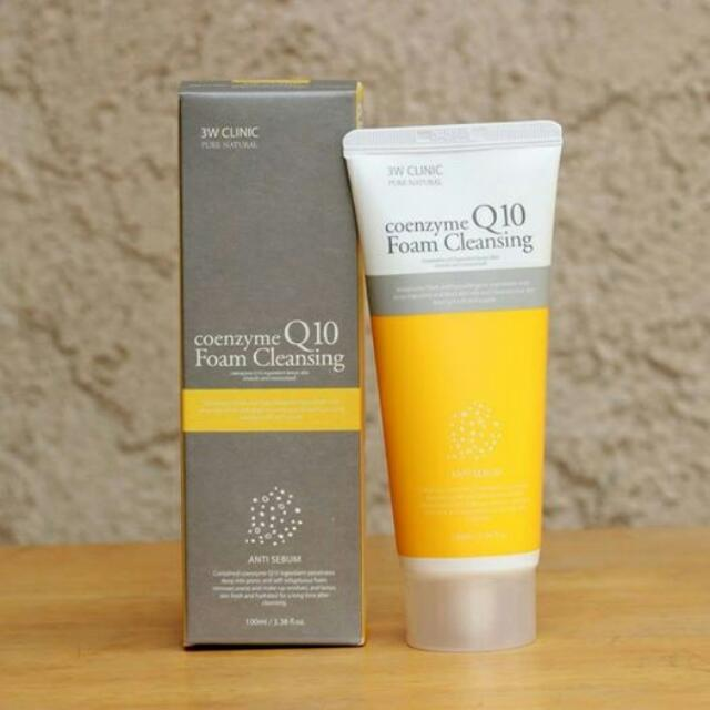 ONHAND! 3W Clinic Coenzyme Q10 Foam Cleansing