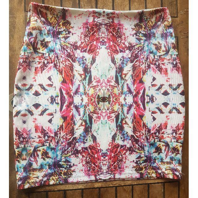 Paper & Scissors Kaleidoscope Skirt