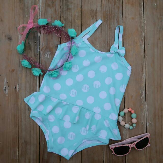 Polka Dotted Swimmies
