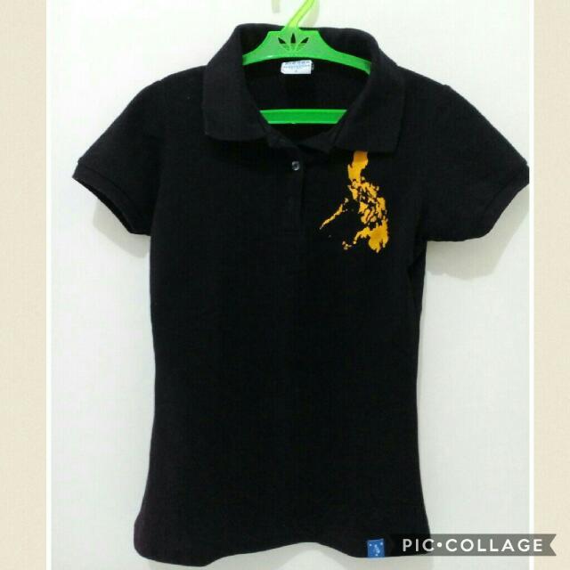 Polo Shirt With Phil Flag