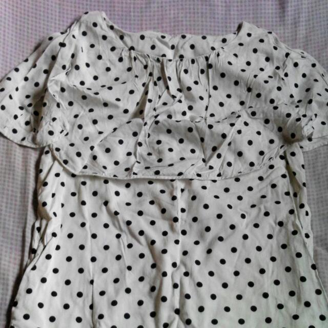 pre loved polka dots dress