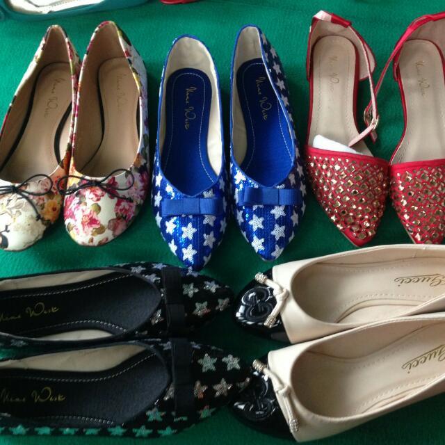 Promo Cuci Gudang Sepatu Import Branded