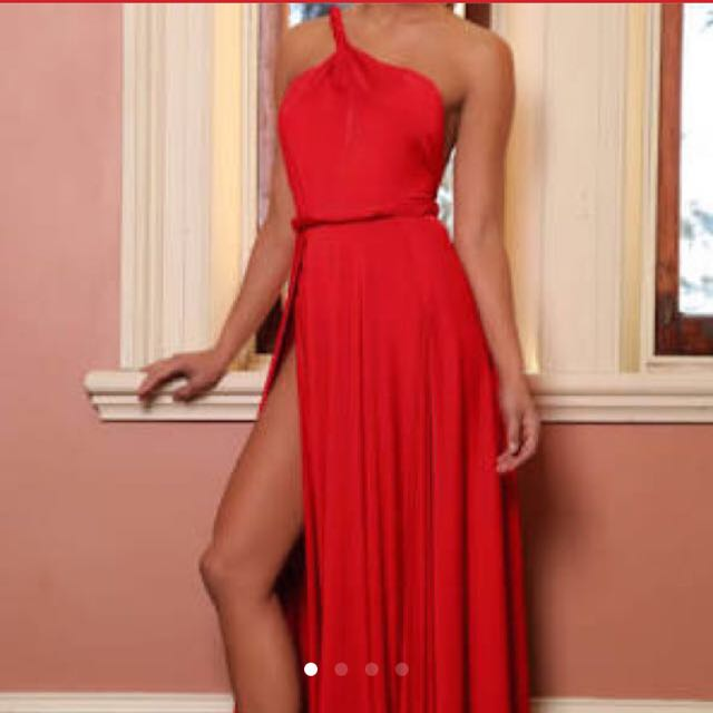 Rent Vamp Red Dress