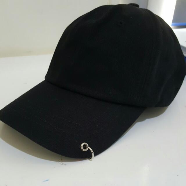 Ring Detail Cap
